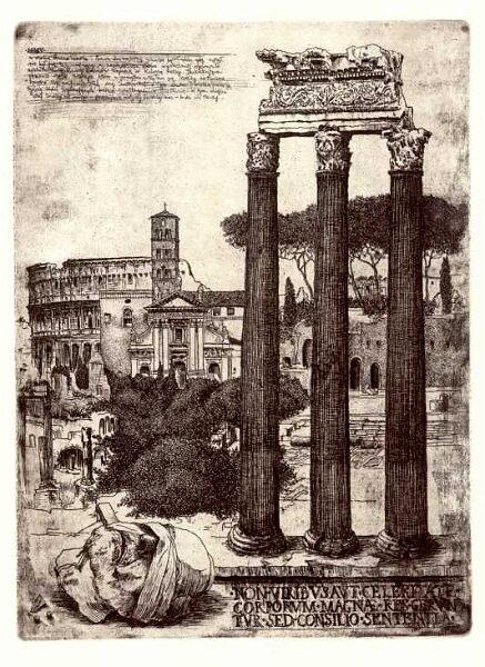 Forum (list z Rzymu II)