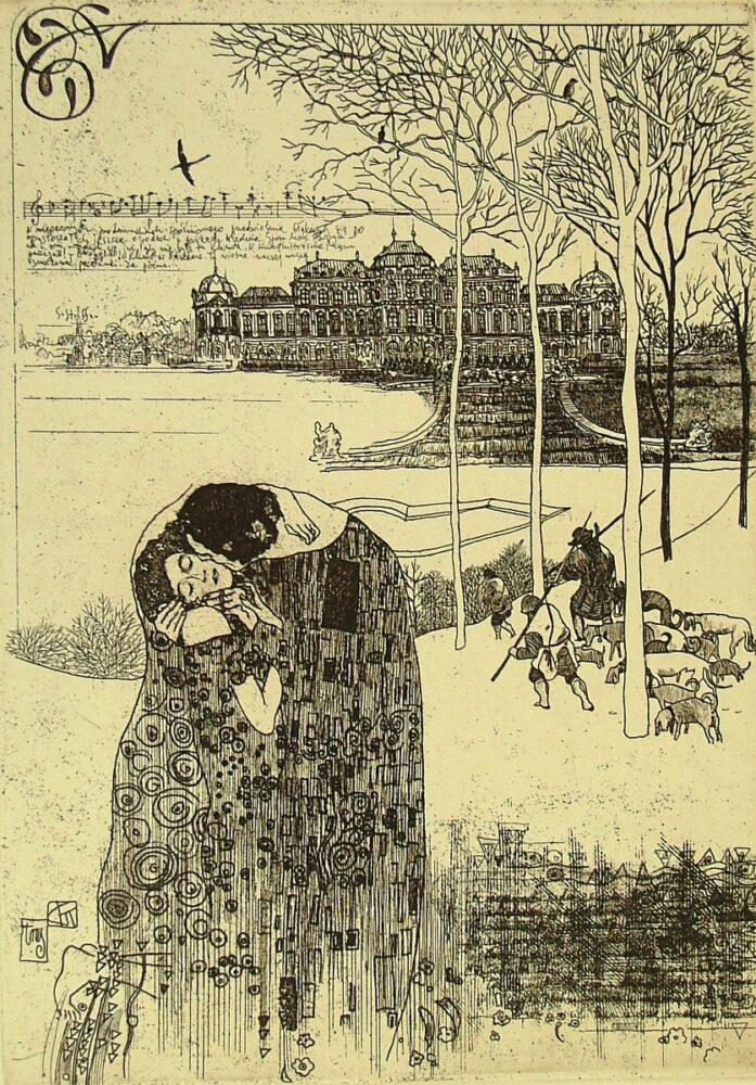 Pocałunek (list z Wiednia)