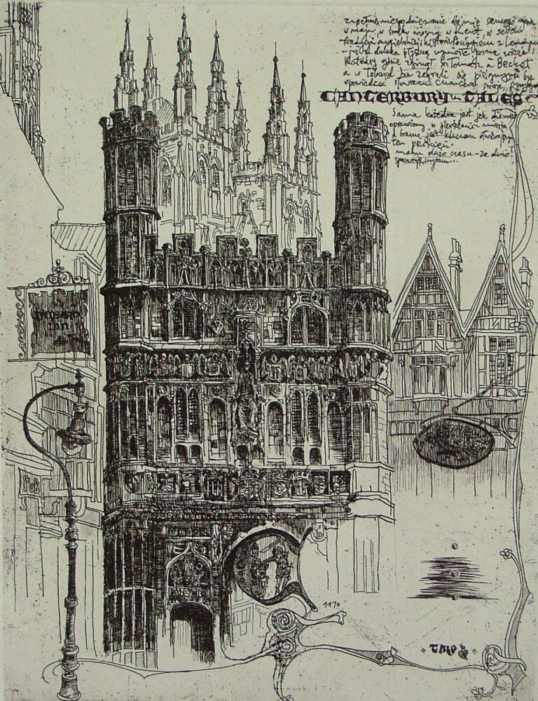 Opowieści Kanterberyjskie (list z Canterbury)