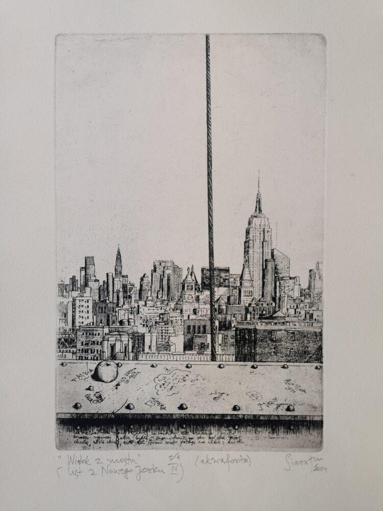 Widok z mostu (list z Nowego Jorku IV)