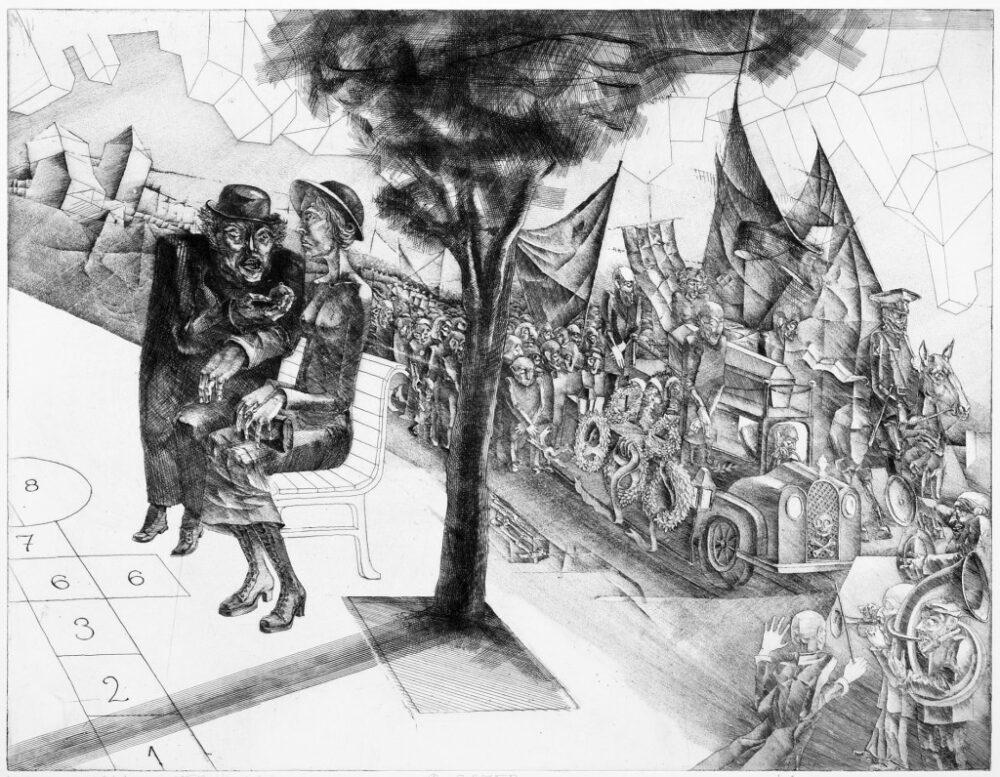 Pogrzeb z cyklu Mistrz i Małgorzata