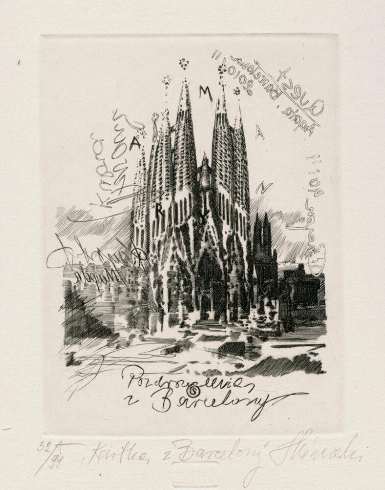 Kartka z Barcelony