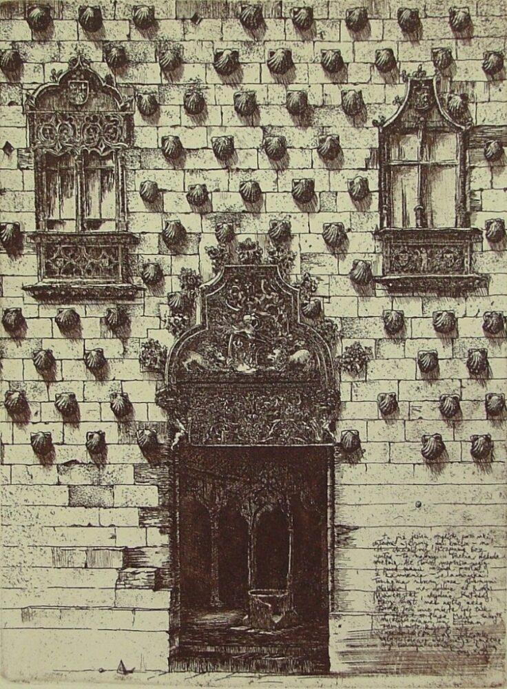 Dom Pod Muszlami (list z Salamanki)
